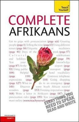 NEW Complete Afrikaans Beginner to Intermediate Book and Audio Course By Lydia M