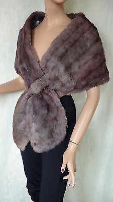 Beautiful Vintage Rabbit Fur Stole.