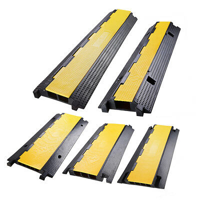 Vehicle Electrical Wire Cable Cover Ramp Warehouse Cord Protector Channels Opt