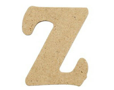SALE - 10  Small 40mm Wooden MDF Letters - Z | Wood Shapes for Crafts