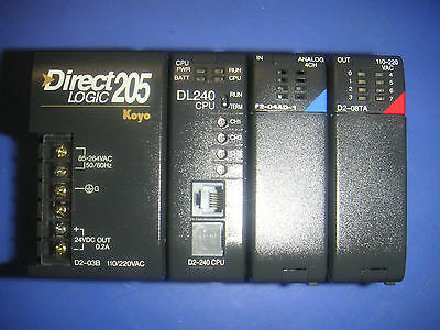 Direct Logic Koyo 205 Plc Direct With Modules
