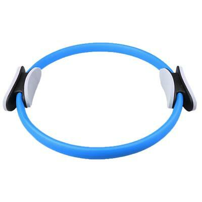 Pilates Resistance Ring Circles Gymnastics Yoga Aerobic Double Handle Blue
