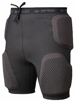 Forcefield Grey Action Sport MX Protection Shorts