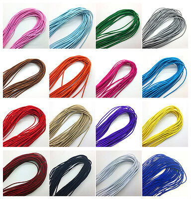 5yds 2.5mm Trong Elastic Bungee Rope Shock Cord Tie Down DIY Jewelry Making #UK