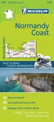 Normandy Coast Zoom Map 117 9782067217850 (Sheet map, folded, 2017)