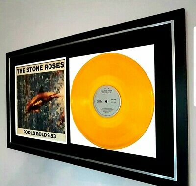 The Stone Roses Original 12 in single 'Fools Gold' in GOLD VINYL-VERY RARE!!