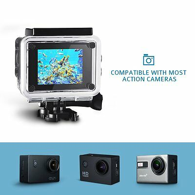 98ft Waterproof Camera Shell Protective Case Diving Housing f GoPro Hero 5 US
