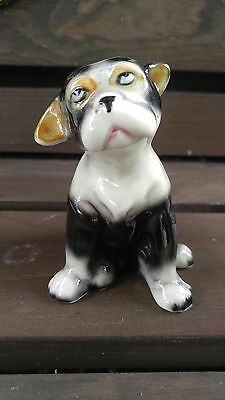 Antique RARE Vintage Japanese Porcelain Dog Figurine