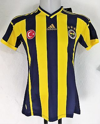 Fenerbahce 2014/15 Home Shirt By Adidas Adults Size Small Brand New With Tags