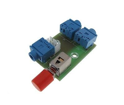 3.5mm Stereo audio Switching Board socket 2 IN 1 OUT / 1 IN 2 OUT