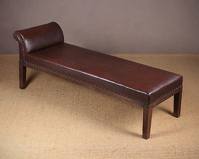 Small Antique Oak Framed Daybed c.1920.