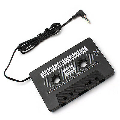 3.5 mm Car Stereo Cassette Tape Adapter For Smartphone iPod MP3 Audio CD Player