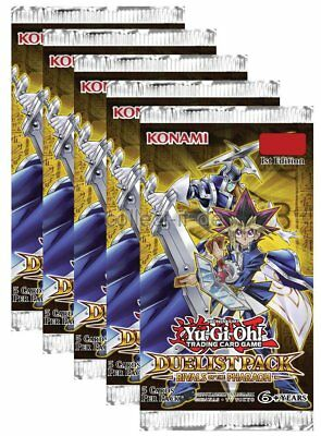 Yu-Gi-Oh - Duelist Pack Rivals of the Pharaoh - 5 Booster - Deutsch - 1. Auflage
