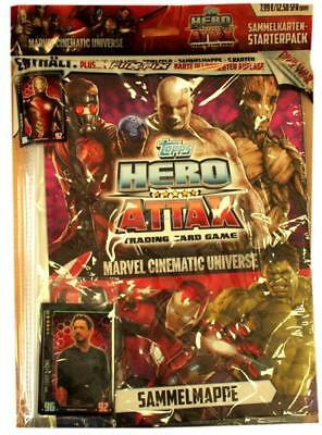Hero Attax 3 Topps Marvel 50 Tüten 1 Display Trading Cards Neu OVP