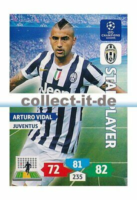 Panini Adrenalyn XL Champions League 13/14 - 151 - Arturo Vidal - Star Player