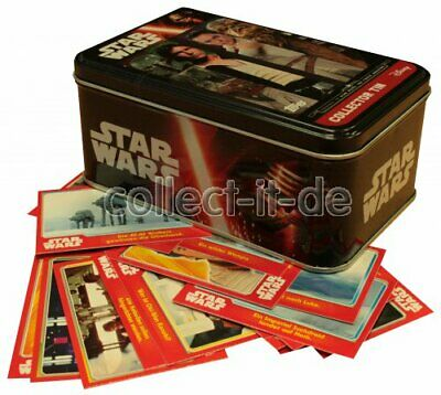 TOPPS - Journey to Star Wars - LEERE Tin-Box + 50 Base Karten - Deutsch