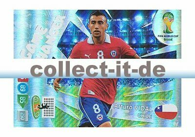 Panini Adrenalyn XL World Cup 2014 - 393 - Arturo Vidal - Game Changer