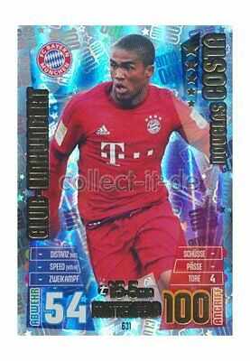 Match Attax Extra 15/16 MX-631 - Douglas Costa - Club 100