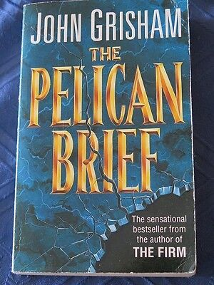The Pelican Brief by John Grisham, paperback book, used
