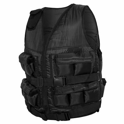 Gorilla Sports Weighted Vest 10KG - 30KG