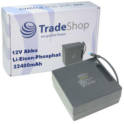 Trade-Shop AKKU 12V 22400mAh 287Wh für Stewart Golf Cart Trolley X1 X3 X5 X7 X9
