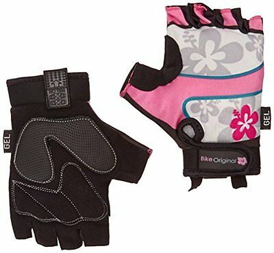 Bike Original Lycra Flower - Guanti per bici in gel T8 (M)