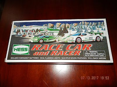 NEW Hess Toy Race Car and Racer