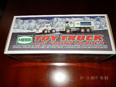 NEW Hess Toy Truck and Front Loader