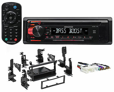 CD Receiver w/Aux/Mp3/WMA, 3-Band Eq+Remote For 1995-99 Nissan Sentra