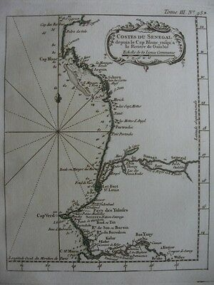 1764 - BELLIN - Map SENEGAL