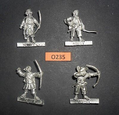 Lord of the Rings LOTR Metal SCOURING OF THE SHIRE HOBBIT ARCHERS FULL SET O 235
