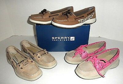 """NEW Girls """"SPERRY Top-Sider: Laguna Boat Shoes: 1M 2M 3M 4M 5M, Many Colors!"""