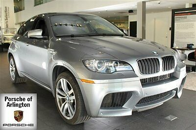 2010 BMW X6 M Sport Utility 4-Door 2010 SUV Used Turbocharged Gas V8 4.4L/268 6-Speed Automatic w/OD AWD Gray