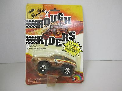 4 x 4 ROUGH RIDERS -Battery-Driven -Super Grip Plus Real Working Headlights 1981