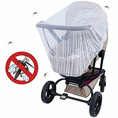 Baby Infant  Anti Insect Mosquito Net Carrier Carriage Cart Full Cover Netting
