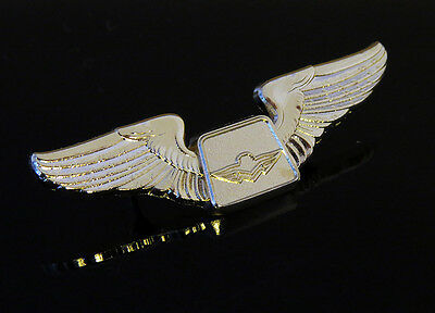 WINGS Pin MOONEY Aircraft Beech gold color for Private Pilot