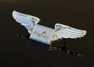 WINGS Pin PIPER Aircraft gold for Private Pilot Archer Warrior Arrow Tomahawk..