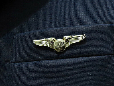 WINGS TURBINE PRIVATE JET PILOT gold for Pilots & Aviators