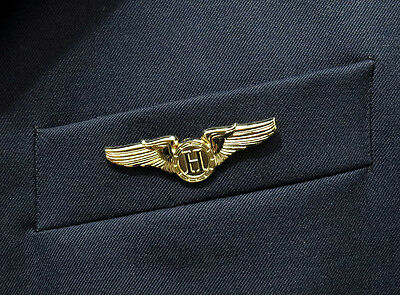 WINGS HELICOPTER PILOT golden for Pilots & Aviators & Chopper Pilots