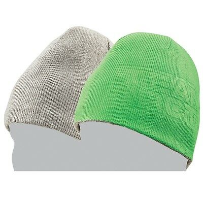 Arctic Cat Adult Team Arctic Reversible Acrylic Beanie - Green & Gray - 5273-071