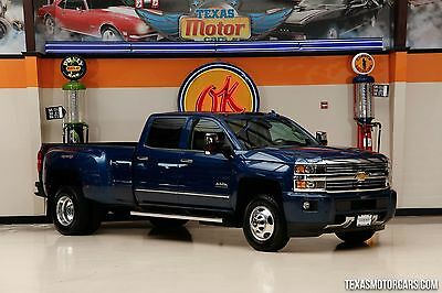 2016 Chevrolet Silverado 3500 High Country 2016 Blue High Country!