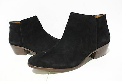 NBJ-787 Sam Edelman Petty Women's Shoes BLACK  Suede SZ 10.5M