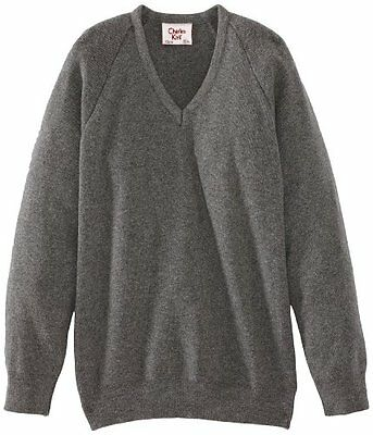 (TG. C32 IN- UK) Grigio (Medium Grey) Charles Kirk Coolflow - Maglia jumper con