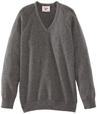 (TG. C46 IN- UK) Grigio (Medium Grey) Charles Kirk Coolflow - Maglia jumper con