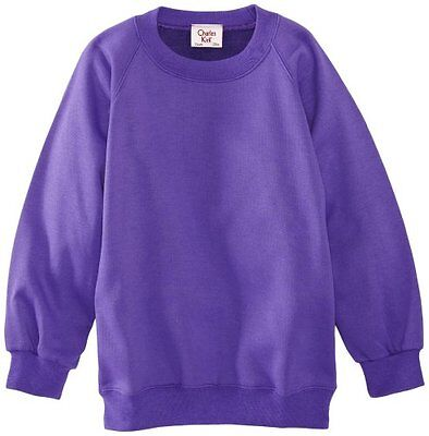 (TG. C38 IN- UK) Viola (Purple) Charles Kirk Coolflow - Felpa, colletto tondo, ,