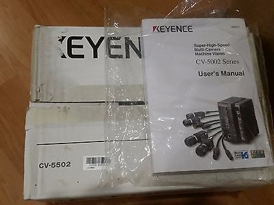 New Keyence Cv-5502 Machine Vision System  Ultra High Speed / Controller