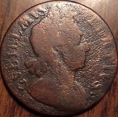 1699 Uk Gb Great Britain Halfpenny