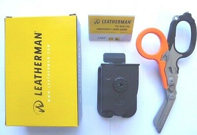 Leatherman Raptor Multi Tool Folding Shears Medical Emergency+ Holster- Orange