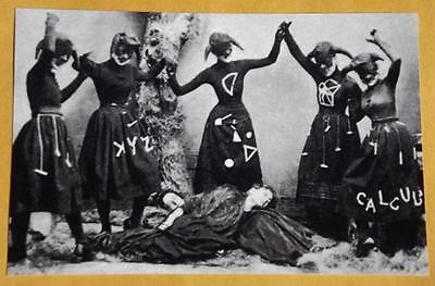 Witches Ritual Spell Spooky Weird Vintage Photo Odd Creepy Mask Witch Freaky P92
