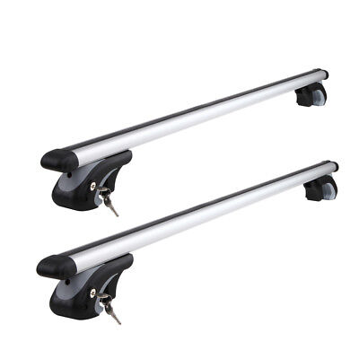 1200mm Universal Aluminium Lockable Roof Rack Cross Bars - S-302384073155